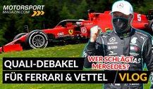 Formel 1, Qualifying-Debakel für Ferrari! Wo ist die Pace?