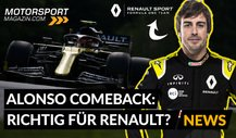 Formel 1, Alonso-Comeback 2021: Richtig für Renault?