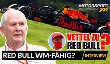 Helmut Marko Interview: Vettel zu Red Bull? WM schon gelaufen?