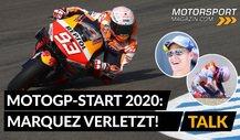 MotoGP Jerez: Marquez verletzt - WM futsch? (Analyse)