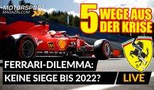 Gewinnt Ferrari bis 2022 kein Formel 1-Rennen mehr?