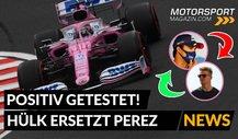 Formel 1 in Silverstone: Perez raus, Hülkenberg rein!
