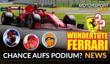 Formel 1 Silverstone: Ferrari mit Chancen aufs Podium?