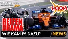 Formel 1: Was löste das Reifen-Drama in Silverstone aus?