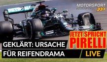 Formel 1: Pirelli erklärt Ursache für Reifenschäden