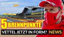 Formel 1 Silverstone Vorschau: Vettel diesmal besser in Form?