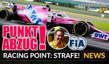 Formel 1, Strafe erklärt: Punktabzug für Racing Point!