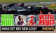 Formel 1: Hülkenberg hängt Vettel ab! Was ist bei Seb los?