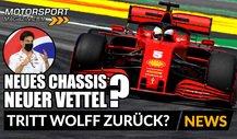 Formel 1: Neues Ferrari-Chassis, neuer Vettel?