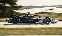 Formel E: Pascal Wehrleins erste Porsche-Testfahrt im Video