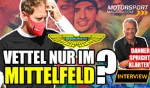 Formel 1, Danner: Vettel mit Aston Martin nur im Mittelfeld?