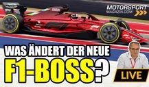 Formel 1: Was ändert sich mit dem neuen F1-Boss?