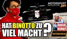 Formel 1, Ferrari-Krise: Hat Binotto zu viel Macht?