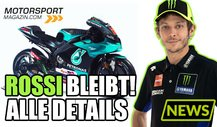 MotoGP: Valentino Rossi 2021 bei Petronas Yamaha - die Details