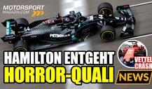 Formel 1, Russland GP: Wie entging Hamilton einer Strafe?