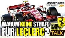 Formel 1: Wieso wurde Leclerc in Sotschi nicht bestraft?