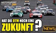 Neue GT3-Autos: Wie sieht die Zukunft der DTM aus?