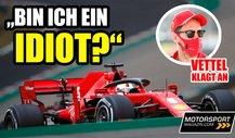 Formel 1 2020: Vettel deutet Benachteiligung durch Ferrari an!