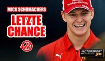 Formel 1: Mick Schumacher zu Haas? Nur noch ein Platz frei!