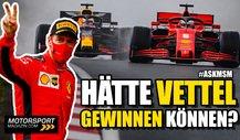 Formel 1: Hätte Vettel in Istanbul gewinnen können?