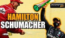 Formel 1, Hamilton vs. Schumacher: Rekorde nur wegen Auto?