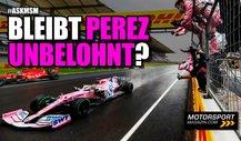 Formel 1 2021: Bleibt die Leistung von Perez unbelohnt?