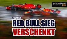 Formel 1, Türkei 2020: So hat Red Bull den Sieg verschenkt