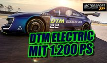 So funktioniert die DTM Electric: Mit 1.200 PS in die Zukunft!