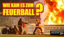 Zweigeteilt! Warum fing Grosjeans Formel 1-Auto Feuer?
