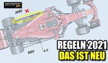 Formel 1 Regeln 2021: Das ist alles neu!