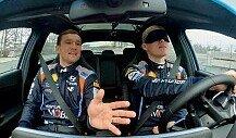 WRC: Hyundai-Pilot Tänak fährt mit verbundenen Augen