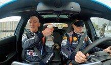 WRC: Hyundai-Pilot Breen fährt mit verbundenen Augen