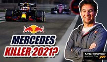 Formel 1 2021, Red Bull: Kampfansage an Mercedes