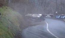 WRC Rallye Monte-Carlo 2021: Abflug von Suninen auf WP1