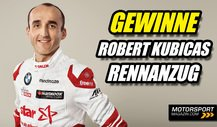 Gewinnspiel: Robert Kubicas Original-DTM-Rennanzug