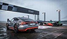 Audi e-tron GT vs. Formel-E-Auto: Sprintduell mit Nico Rosberg