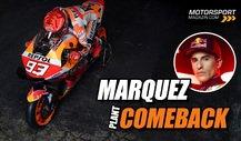 Marc Marquez gibt ersten Ausblick auf sein MotoGP-Comeback
