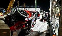 Formel E, Diriyah ePrix II: Günther-Unfall, Abbruch, Bird-Sieg