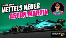 Vettels neuer Aston Martin: Noch näher am Mercedes!