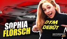 Sophia Flörsch im Interview: DTM-Debüt im Abt Audi