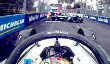 Formel E 2021: Unglaublicher Rom-Unfall im Video
