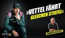 Was ist mit Sebastian Vettel los? Danner spricht Klartext!