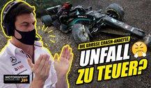 Nach Formel 1 Mega-Crash: Mercedes klagt über Geldprobleme!