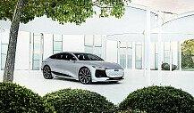 Auto: Das Lichtsystem des Audi A6 e-tron concept