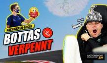 Formel 1 Crash: Schlafmütze Bottas verpennt Entschuldigung!