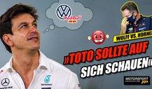 Red Bull sauer auf Toto Wolff: Kommt VW in die Formel 1?