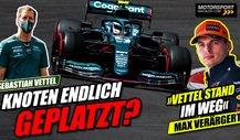 Vettel schlägt zurück: Ist der Knoten endlich geplatzt?
