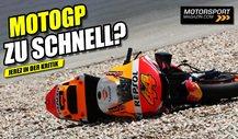Nach schweren Stürzen: MotoGP-Sicherheitsdebatte in Jerez