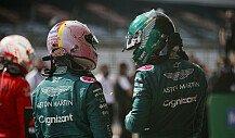 Formel 1, Vettel gegen Stroll: Duell mit verbundenen Augen