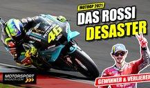 Valentino Rossi desaströs: Die tragische Figur der MotoGP 2021